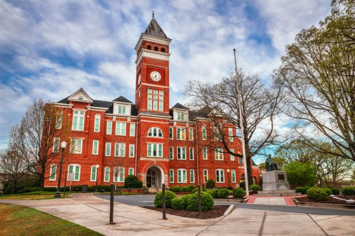 Tillman Hall Clemson University Places To Eat and Stay